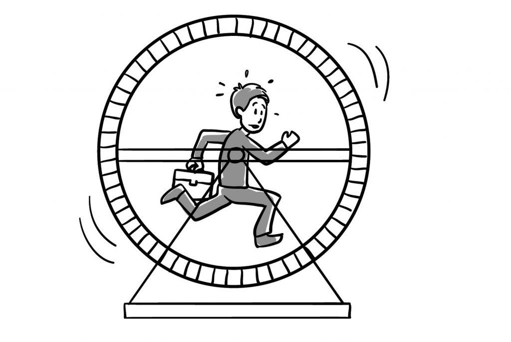 Halte durch Stressverstärker mit Hypnose lösen